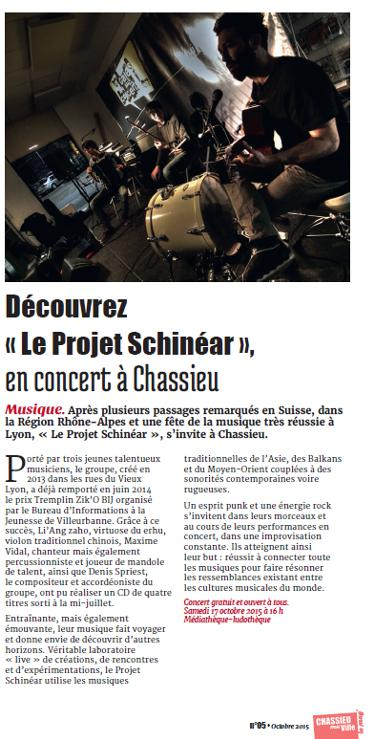 article chassieu